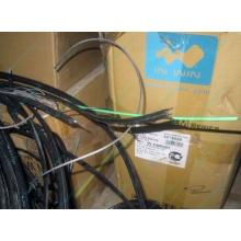 Оптический кабель Б/У для внешней прокладки (с металлическим тросом) в Димитровграде, оптокабель БУ (Димитровград)