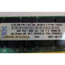 IBM 39M5811 39M5812 2Gb (2048Mb) DDR2 ECC Reg memory (Димитровград)