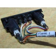 HP 224998-001 в Димитровграде, кнопка включения питания HP 224998-001 с кабелем для сервера HP ML370 G4 (Димитровград)